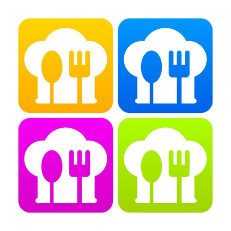 Boss Icon kitchen sign Vector