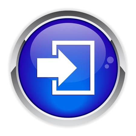 connexion: bouton internet connexion icon