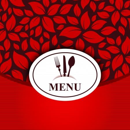 kitchen background sticker restaurant menu Vector