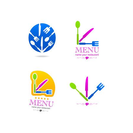 Kitchen business icon menu Vector