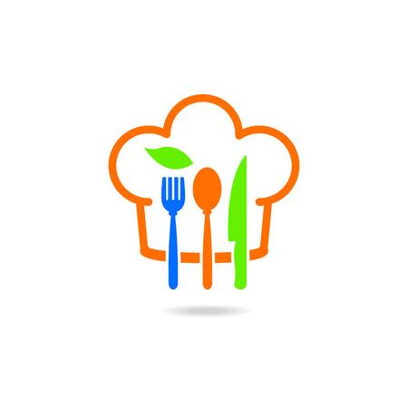 Restaurant food kitchenware icons Vector