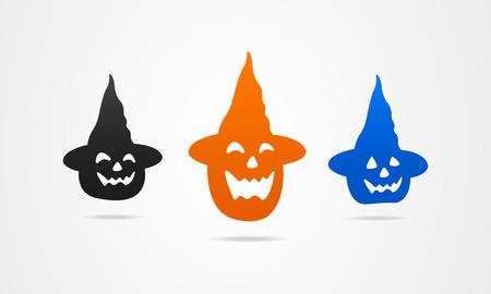 soiree: Halloween holiday icons symbols