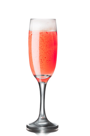 bellini: Tintoretto alcoholic cocktail (a kind of famous Bellini family with fresh pomegranate juice)