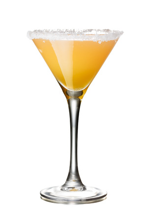 sidecar: Sidecar alcoholic cocktail.All day IBA official cocktail with cognac and triple sec liqueur