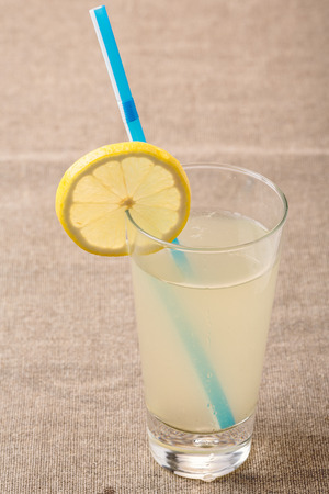 pani: Highball of Shikanjvi homemade lemonade with lemon and ginger, spiced with cumin and saffron. Indian beverage known as nimbu pani or shikanji. Bjohpuri cuisine