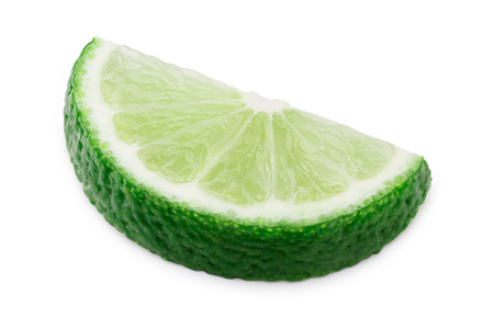retouched: Lime wheel halved. Infinite depth of field,clipping path,retouched