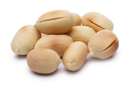 shelled: Whole roasted peanuts,shelled and blanched.