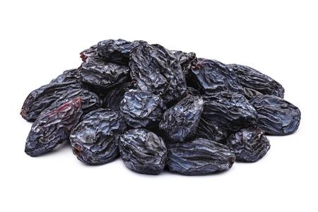Dunkelblaue natürliche kernlos Rosinen (Isabella, Korinthiaki, Uzum). Sonnengetrocknete unbehandelten Trauben.