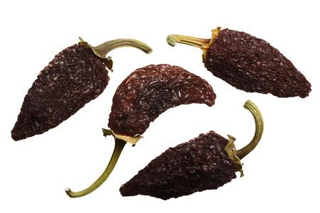 煙乾燥熟れハラペーニョ唐辛子または Chipotles。