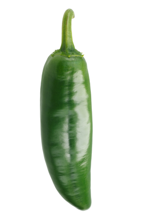 Numex Sandia Chile Pepper. NM Hatch Chili. Clipping paths