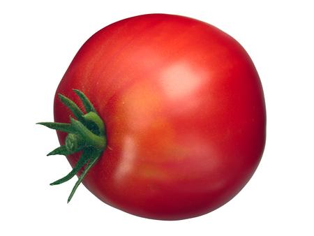 Oxheart Cuore di bue tomato (Solanum lycopersicum), whole