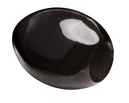 Black pitted olive (oxidized fruit of Olea europaea)