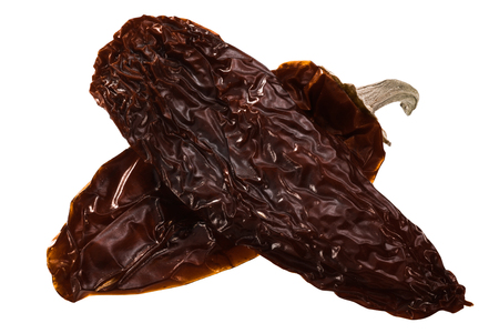 Chipotle Morita, a whole smoke-dried overripe Jalapeno chile peppers