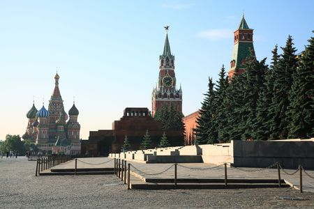 Russia. Red square, Kremlin, Moscow