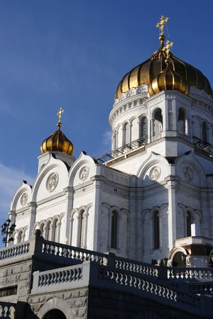 Main cathedral in Moscow, Russia