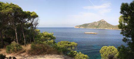 View on island Dragonera. Majorca Stock Photo
