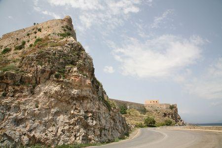 Old fortress in Retimno, Crete Stock Photo