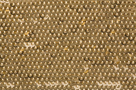 Background with gold sequins.