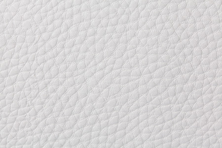 Background with texture of white leather. Close up. Stock Photo