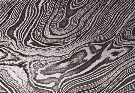 ダマスク鋼製のパターンと背景、クローズ アップ 写真素材