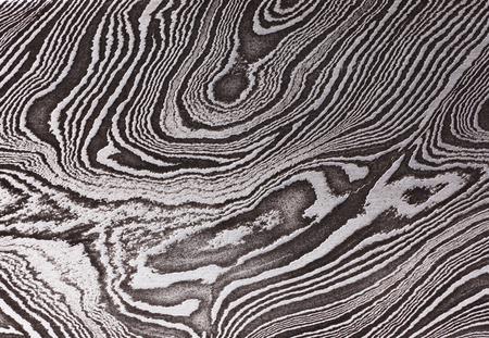 Achtergrond met een patroon van het Damast staal, close-up