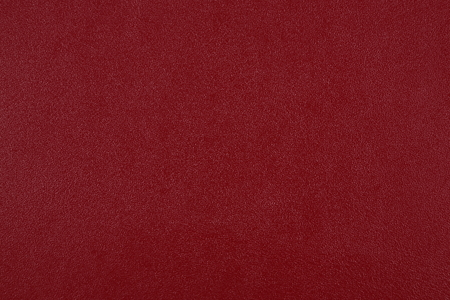 Close up of red leather. Can be used as a background. Stock Photo