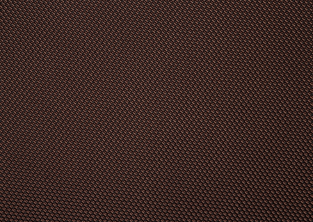 Close up texture of dense brown fabric