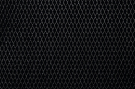 Close up texture of a black imitation leather