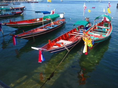 Thai boats 6     photo