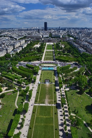 urbanscape: View from Eiffel Tower
