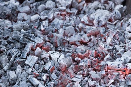 brazier: hot coals for shish kebab