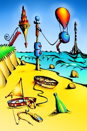 fable: fable fun sea
