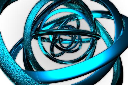 3d art: 3D Art abstraction light color