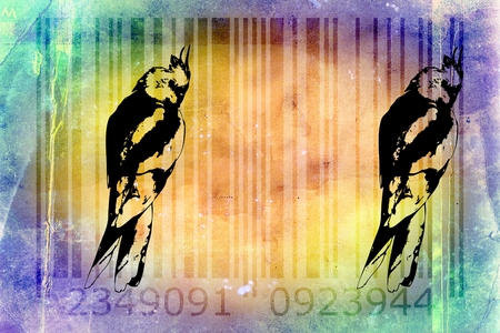 identifier: barcode animal design art idea