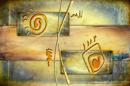 arte abstracto: Abstracto del color del diseño del arte