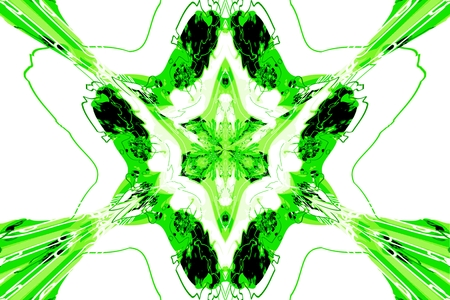 abstraction: A star abstraction symetric