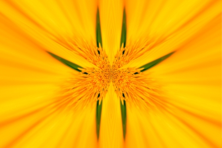 A star symmetric fractal abstraction Stock Photo