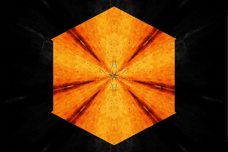 abstraction: A star abstraction fractal symmetry