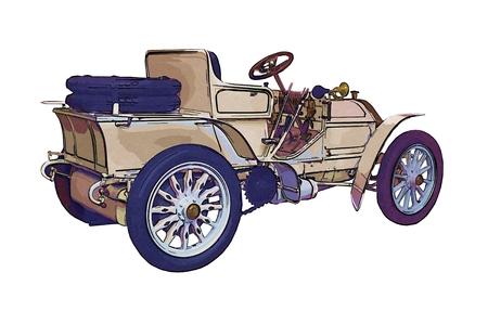 tsar: retro car