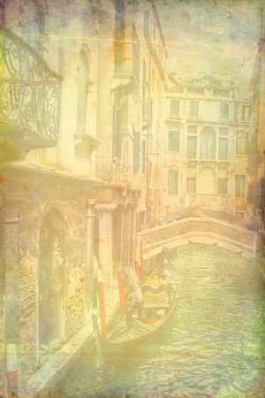Venice Art Illustration Texture Stock Photo, Picture And Royalty ...