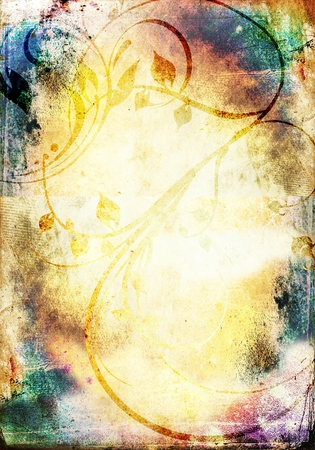 Grunge background with space for text or image Banque d'images