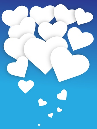 hearts balloons, the vector illustration available in EPS   JPEG formats