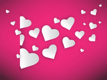 hearts fly jpeg image vector illustration. This image will download as a jpeg or .eps file. You will need a vector editor to use this file.