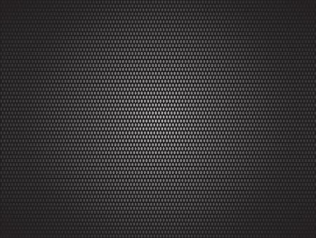 Black dotted background Illustration