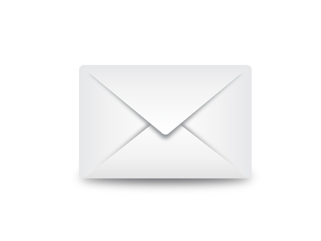 email envelop illustration can be scaled to any size without loss of resolution.  Illustration