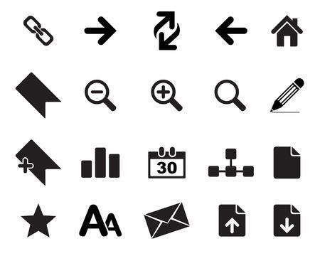 broken link: Iconos Web vector ilustrador, disponible en formatos jpeg y EPS, para modificar este software de edici�n de archivos, como Adobe Illustrator, Freehand o CorelDRAW se requiere Vectores
