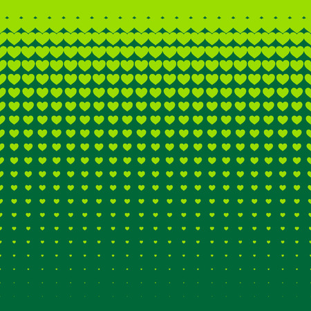hearts background: Beautiful seamless vector pattern with green hearts background. Can be used for wallpaper, pattern fills, web page background, surface textures.