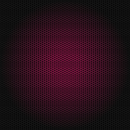 Beautiful Seamless vector pink hexagon pattern on black background. Can be used for wallpaper pattern fills web page background surface textures.
