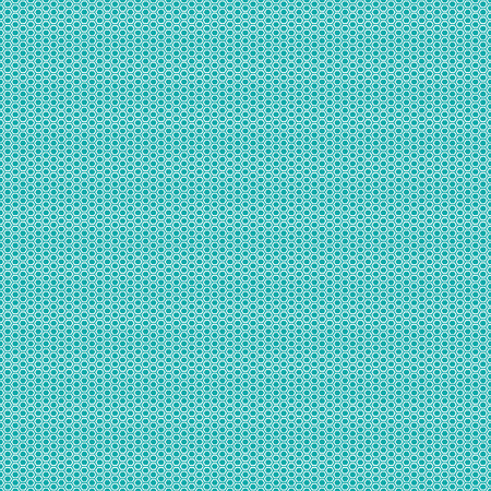 Beautiful Seamless vector hexagon pattern on sea green background. Can be used for wallpaper pattern fills web page background surface textures.