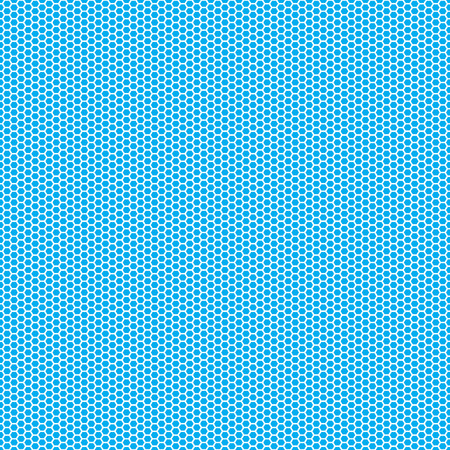 Beautiful Seamless vector hexagon pattern on neon blue background. Can be used for wallpaper pattern fills web page background surface textures.